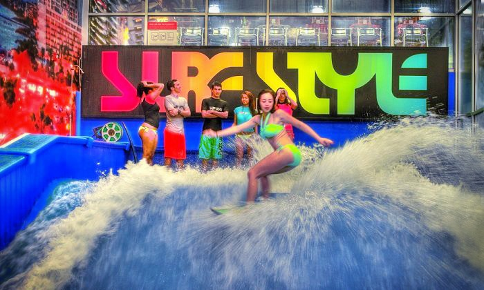 Surf Style - Surf Style: Two-Hour Indoor Surfing Party at Surf Style in Clearwater (Up to 38% Off). Two Options Available.