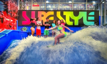 Two-Hour Indoor Surfing Party at Surf Style in Clearwater (Up to 38% Off). Two Options Available.