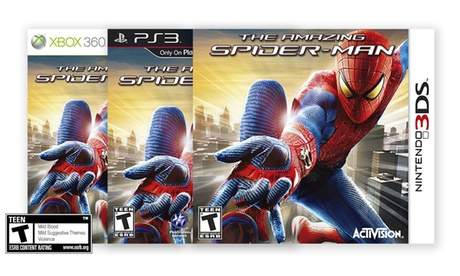 The Amazing Spider-Man for Xbox 360, PS3, or 3DS b4aae226-23d1-11e7-a6d0-00259060b5da