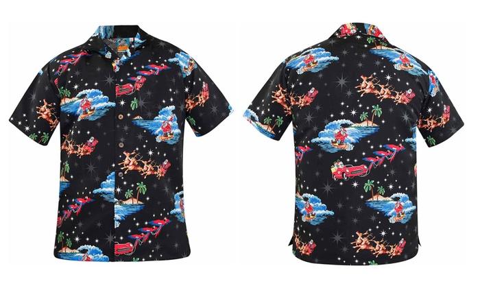 Christmas Hawaiian Shirts.Christmas Hawaiian Shirts Groupon Goods