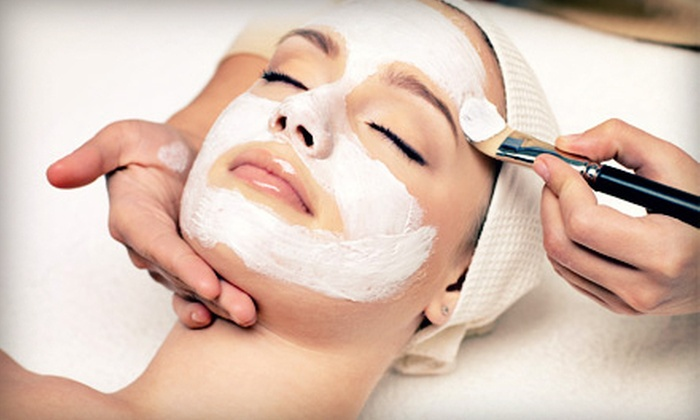 Petra's Skin Spa - Fairfax: Massage and Aromatic Facial, or Slimming Body Wrap and Facial with Fruit-Acid Peel at Petra's Skin Spa (Half Off)