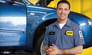 Meineke Car Care - 6 South: Oil-Change, Wheel-Alignment, or Brake-Service Package at Meineke Car Care Center (Up to 57% Off)