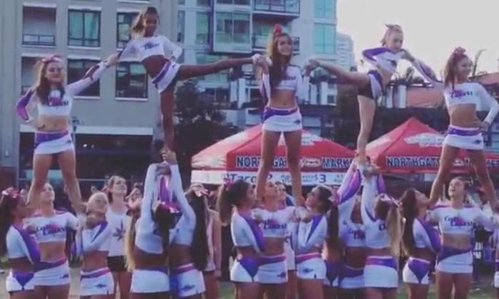 Cali Coast Elite - Mission Hills: $105 for $350 towards Summer Cheerleading Camp— Cali Coast Elite