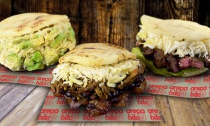 36% Off Meal for Two at Arepa Bite at Arepa Bite, plus 6.0% Cash Back from Ebates.