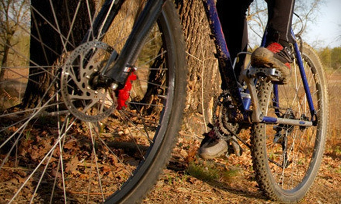 Upgrade Cycle Works - Goose Island: $37 for a King of the Mountain Bike Tune-Up With Brake Pads at Upgrade Cycle Works (Up to $103 Value)