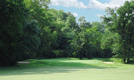 Round of Golf including Cart Rental and Range Balls at Clinton Hill Golf Course (Up to 52% Off). Four Options.