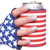 Suzy Kuzy Stars and Stripes Beverage Mitt