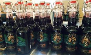 Salish Sea Organic Liqueurs: Herbal, Floral, and Fruit Liqueur Tasting for Two or Four at Salish Sea Organic Liqueurs (53% Off)