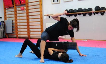 1 mes de defensa personal krav magá para 1 o 2 personas desde en 14,95 € en 4 gimnasios Krav Maga-Defensa Personal