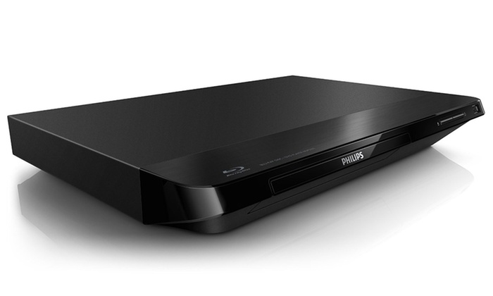 Philips 1080p Blu-ray Disc and DVD Player (BDP2100) (Manufacturer  Refurbished)  Free Returns