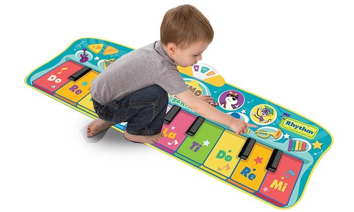 Baby Genius Step To Dance Junior Piano Mat Groupon