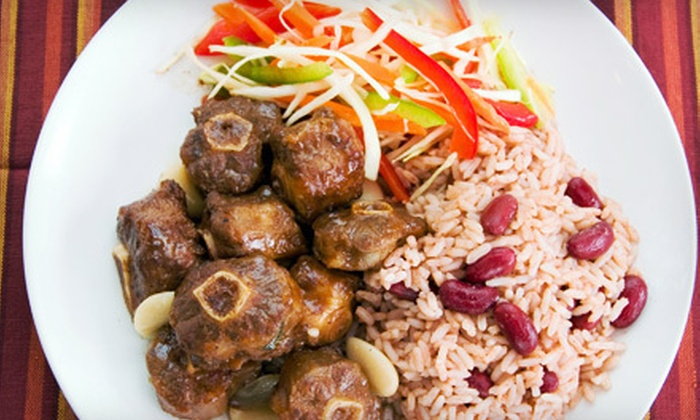 Higher Level Restaurant & Lounge - Reading: Jamaican Fare for Two or Four at Higher Level Restaurant & Lounge (Up to 53% Off)