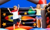 The Bounce House LLC - Multiple Locations: $16 for 4 All-Day Play Passes, 4 Sodas, and 4 Bags of Chips at Bounce House (Up to $56 Value)