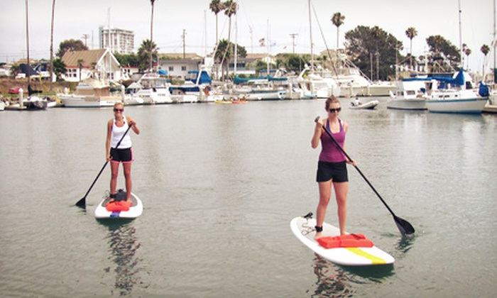Jimmy Romo's SUP Surf Shop - Townsite: Standup-Paddleboard Rental for One, Two, or Four fromJimmy Romo's SUP Surf Shop(Up to 58% Off)
