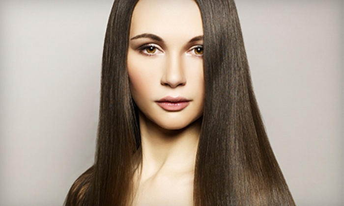 Jane Salon - East Sacramento: Haircuts and Keratin Treatments at Jane Salon (Up to 60% Off). Four Options Available.