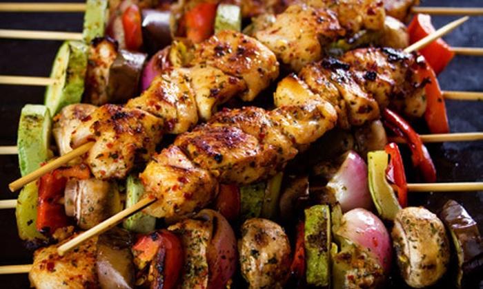 Village Kebab - North Los Altos: $20 for $40 Worth of Mediterranean Food and Drinks at Dinner at Village Kebab