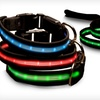 Up to 78% Off an LED Pet Leash or Collar