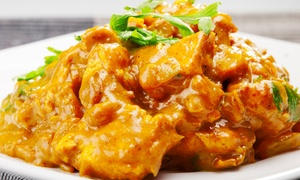 Utsav Indian Restaurant: $25 for $50 or $50 for $100 to Spend on Two-Course Indian Dinner for Minimum Two People at Utsav Indian Restaurant