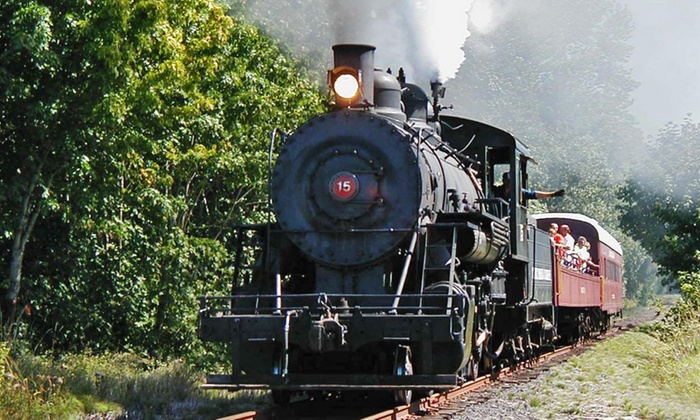 Chehalis-Centralia Railroad & Museum - Chehalis: Coach Steam-Train Ride to Ruth or Milburn from Chehalis-Centralia Railroad & Museum (Up to 41% Off)