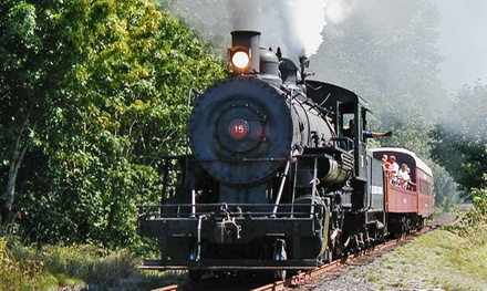 Coach Steam-Train Ride to Ruth or Milburn from Chehalis-Centralia Railroad & Museum (Up to 41% Off)