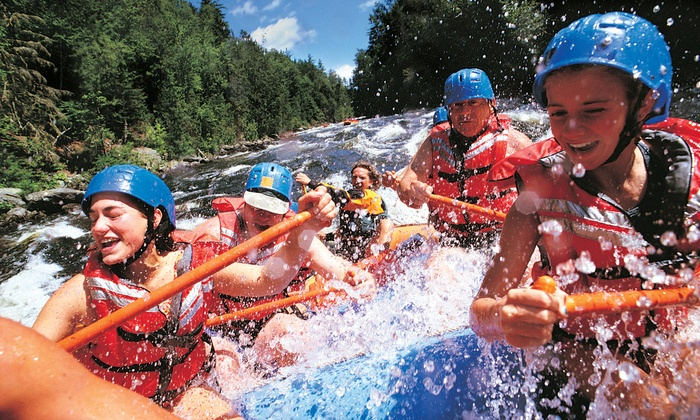 Tarka's Whitewater Rafting - Norway: Half-Day, 1-Night, or 2-Night Menominee River Rafting Trip from Tarka's Whitewater Journey (Up to 51% Off)