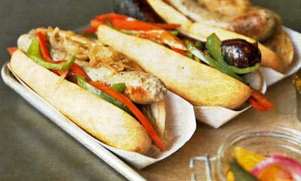 $11 for $20 Worth of Gourmet Sausages at Scotch & Sausage