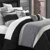 Lucca 8-Piece Embroidered Quilted Comforter Set