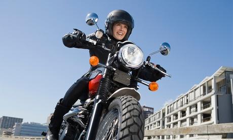 Curso para carné de moto A2 con 5 o 7 prácticas desde 49,95 € en Autoescuela Jersey, 2 centros