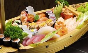 Il Milione (Ancona): Menu giapponese con antipasto, sushi da 40 pezzi e saké (sconto fino a 68%)