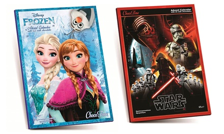 Frozen or Star Wars Advent Calendar for £0.98