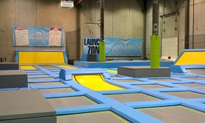 FreeFall Trampoline Park: $20 for Two 90-Minute Jump Passes at FreeFall Trampoline Park ($36 Value)