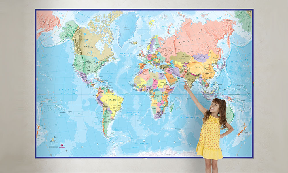 World map mural groupon goods product details gumiabroncs Choice Image