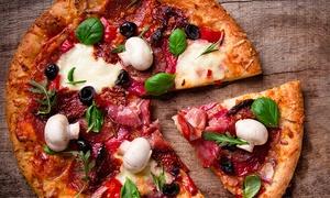 Bar Max - Ristorante pizzeria: Menu con pizza napoletana, dolce e birra per 2 o 4 persone al ristorante Bar Max (sconto fino a 68%)
