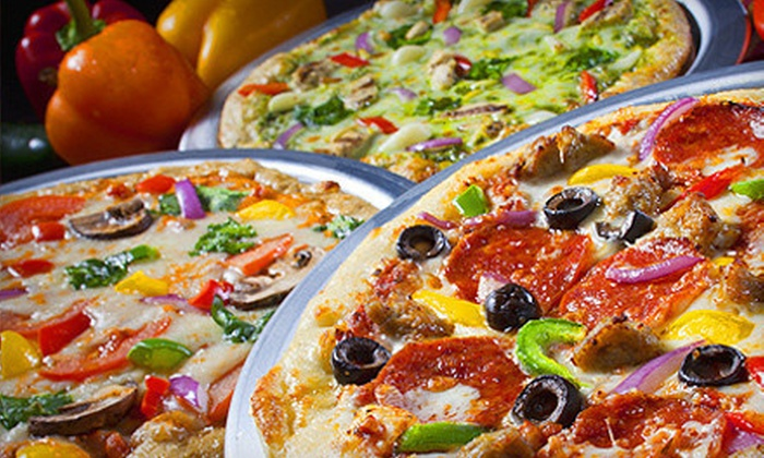 Top That! Pizza - Mansfield: $7 for $14 Worth of Pizza at Top That Pizza