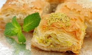 Baklava Factory: Small, Medium, or Large Tray of Baklava at Baklava Factory (Up to 43%)
