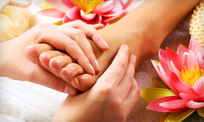 Salon Lux - Cranston: One-Hour Foot Reflexology Treatment, One-Hour Facial, or Both Services at Salon Lux in Cranston (Up to 59% Off)