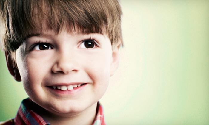 Palm Valley Pediatric Dentistry - Palm Valley: Dental Exam, X-rays, and Electric Toothbrush with Optional Cleaning at Palm Valley Pediatric Dentistry (Up to 79% Off)
