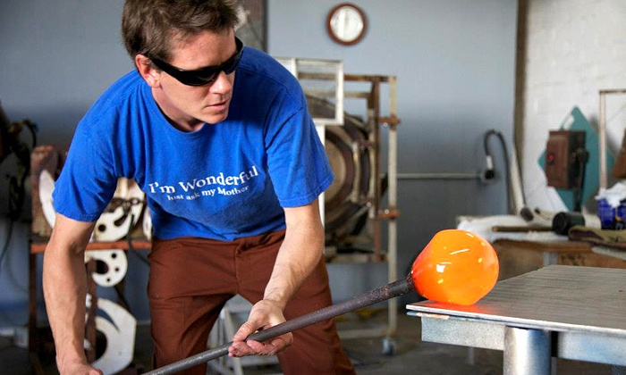 Sacramento Art Glass - Sacramento: One- or Two-Piece Glass-Blowing Class at Sacramento Art Glass (Up to 53% Off). Two Options Available.