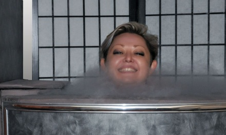 Cryotherapy Session at Cryo Spa Natural Healing Center (48% Off)