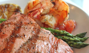 AK - 10: Simon and Seafort's - Anchorage - RUI: Steakhouse Fare for Lunch or Dinner at Simon and Seafort's (Up to 33% Off)