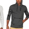 Men's Striped Pullover Hoodies