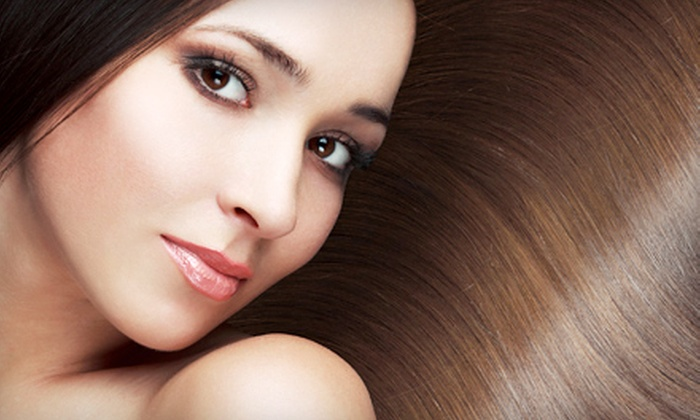 Epiphany Salon and Gallery - Uptown Neighborhood Association: Haircuts, Conditioning Treatments, and Highlights at Epiphany Salon & Gallery (Up to 70% Off). Three Options Available.