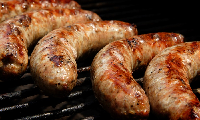 Sausage Guy - Fenway - Kenmore - Audubon Circle - Longwood: One or Two Groupons, Each Good for $10 Worth of Food at The Sausage Guy