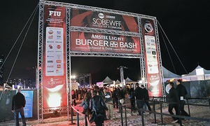 Food Network & Cooking Channel South Beach Wine & Food Festival presented by FOOD & WINE: $10 Donation for Epic Sweepstakes for a Chance to Win a Miami Trip for Two to Visit SOBEWFF®