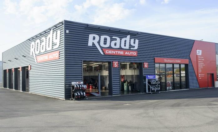 Bon d'achat d'une valeur de 100€ à valoir en atelier dans plus de 100 centres-auto Roady à seulement 50€