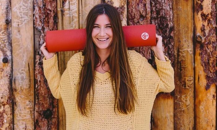 Manduka.com: $25 for Yoga Gear and Accessories at Manduka.com (a $50 Value)