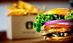 Podgórski Salon Degustacyjny: Dowolny burger z dużymi frytkami za 18,90 zł i więcej opcji w Podgórskim Salonie Degustacyjnym (do -31%)