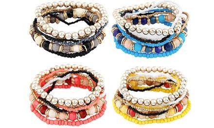 Pulseira Mutilayer Beads por 12,99€ ou conjunto de quatro por 34,99€