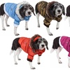 Insulated Parka Dog Coat with Removable Hood