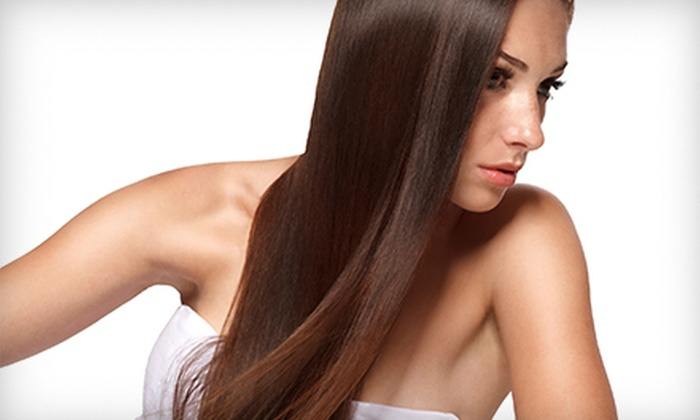 Ambiance Salon - Totowa: One or Two Keratin Smoothing Treatments at Ambiance Salon (Up to 74% Off)